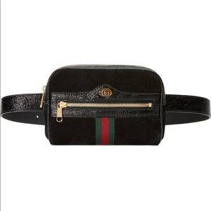 Gucci Ophidia Velvet Belt Bag